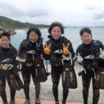 沖縄ダイビング☆2/5 サンゴ礁体験ダイビング 9時~ たく・しおん