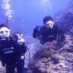 沖縄ダイビング☆2/19  青の洞窟体験ダイビング  15:30~ なすび