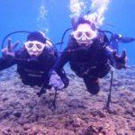 沖縄ダイビング☆2/28  青の洞窟体験ダイビング  15:00~ なすび