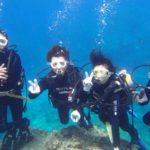 沖縄ダイビング☆ 4/3 青の洞窟体験ダイビング 13時~ なすび・たく