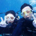 沖縄ダイビング☆4/8  サンゴ礁体験ダイビング   13:00~ しおん