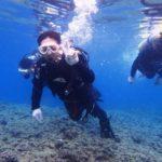 沖縄ダイビング☆4/14  青の洞窟体験ダイビング   15:00~  しおん・とも