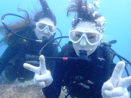 沖縄ダイビング☆4/16 サンゴ礁体験ダイビング 11時~ しおん