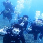 沖縄ダイビング☆4/21 珊瑚体験ダイビング 10:30~ なすび・しおん・とも・りょう・りさ・せいや