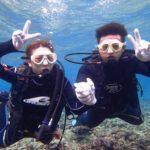 沖縄ダイビング☆4/23 青の洞窟体験ダイビング贅沢2ダイブコース 8:00~ たく