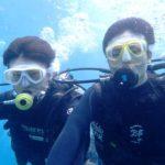 沖縄ダイビング☆4/23 青の洞窟体験ダイビング 10:30~ なすび・しおん・とも・どら