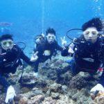 沖縄ダイビング☆4/29 サンゴ礁体験ダイビング 8:00~ たく
