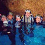 沖縄ダイビング☆4/30 青の洞窟スノーケリング 13:00~ なすび