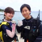 沖縄ダイビング☆5/9 サンゴ礁体験ダイビング 13:00~しおん