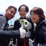 沖縄ダイビング☆ 5/19 青の洞窟体験ダイビング 10時~ しおん・なすび
