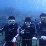 沖縄ダイビング☆5/4 サンゴ礁体験ダイビング 8:00~ なすび