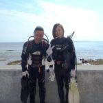 沖縄ダイビング☆5/4 サンゴ礁体験ダイビング 15:00~ えりな