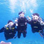 沖縄ダイビング☆5/6 青の洞窟体験ダイビング 12:30~ しおん・りさ