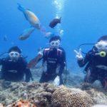 沖縄ダイビング☆5/8 青の洞窟体験ダイビング 15:30~ たく