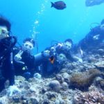 沖縄ダイビング☆5/16  10時半~ 青の洞窟体験ダイビング  しおん・なすび・たく