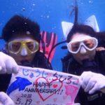 沖縄ダイビング☆ 5/19 青の洞窟体験ダイビング 12時~ なすび