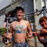 沖縄ダイビング☆ 5/25 砂辺ビーチFUN しおん
