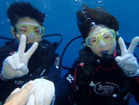 沖縄ダイビング☆6/19 青の洞窟体験ダイビング 10:30~ しおん