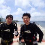 沖縄ダイビング☆6/9 サンゴ礁体験2ダイビング 8:00~ なすび