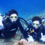 沖縄ダイビング☆6/21 青の洞窟体験ダイビング15:30~ なすび