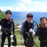 沖縄ダイビング☆7/13 10時半 青の洞窟体験ダイビング  担当たく