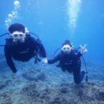 沖縄ダイビング☆ 7/4 珊瑚礁体験ダイビング 13時~ なすび