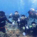 沖縄ダイビング☆7/7 13時 青の洞窟体験ダイビング  担当なすび・りさ
