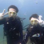 沖縄ダイビング☆7/8 15時 サンゴ礁体験ダイビング  担当なすび