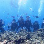 沖縄ダイビング☆ 7/8 青の洞窟体験ダイビング 8時~ しおん・たく・なすび