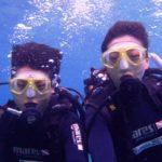 沖縄ダイビング☆7/12 青の洞窟体験ダイビング 8時 しおん