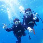 沖縄ダイビング☆7/15 青の洞窟体験ダイビング 10:30~ えりな