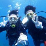 沖縄ダイビング☆7/16 青の洞窟体験ダイビング 8:00~えりな