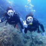 沖縄ダイビング☆7/16 青の洞窟体験ダイビング 15:30~ たく