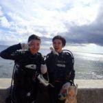 沖縄ダイビング☆7/19 サンゴ礁体験ダイビング 15:30~ しおん