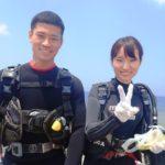 沖縄ダイビング☆7/27 サンゴ礁体験ダイビング 10:30~ しおん