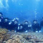 沖縄ダイビング☆7/27 サンゴ礁体験ダイビング 13:00~ たく・しおん・なすび
