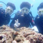 沖縄ダイビング☆ 7/29 珊瑚体験ダイビング 13時~ しおん・たく