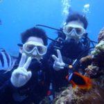 沖縄ダイビング☆8/28 青の洞窟2体験ダイビング 13:00~ えりな
