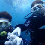 沖縄ダイビング☆8/4  青の洞窟体験ダイビング  8時  たく