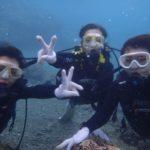沖縄ダイビング☆8/2 サンゴ礁体験ダイビング 10:00~ なすび