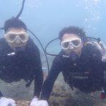 沖縄ダイビング☆8/2 サンゴ礁体験ダイビング 10:20~ しおん