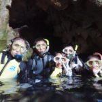 沖縄ダイビング☆8/3 青の洞窟体験ダイビング&スノーケル 8:00~ なすび・しおん・たく