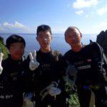 沖縄ダイビング☆8/5 サンゴ礁体験ダイビング 8:00~ たく・なすび