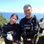 沖縄ダイビング☆8/5 青の洞窟体験ダイビング 10:30~ たく