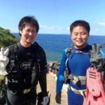 沖縄ダイビング☆8/5 青の洞窟体験ダイビング 15:00~ たく