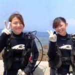 沖縄ダイビング☆8/9 サンゴ礁体験ダイビング 10:30~ しおん