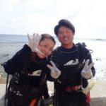 沖縄ダイビング☆8/12 サンゴ礁体験ダイビング 15:30~ しおん