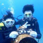 沖縄ダイビング☆8/12 サンゴ礁体験ダイビング 10:30~ しおん