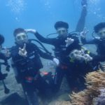 沖縄ダイビング☆8/13 サンゴ礁体験ダイビング 13:00~ しおん・なすび