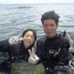 沖縄ダイビング☆8/14 サンゴ礁体験ダイビング 13:00~ えりな